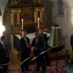 Saxophonquartett Kirche 2014