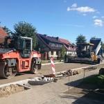 Wernikow Straßenbau 2015